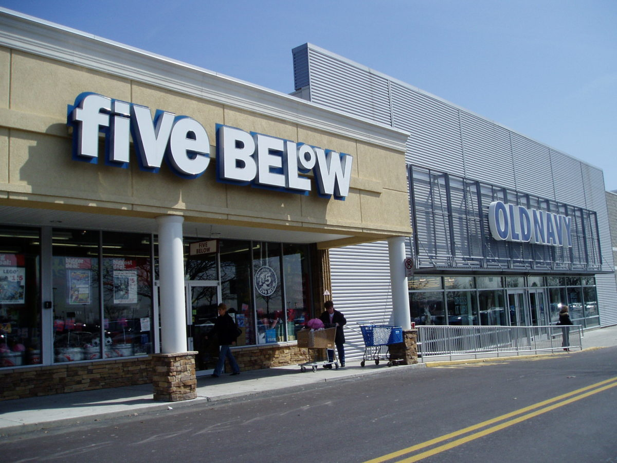 Five Below at Airport Square Montgomeryville, PA