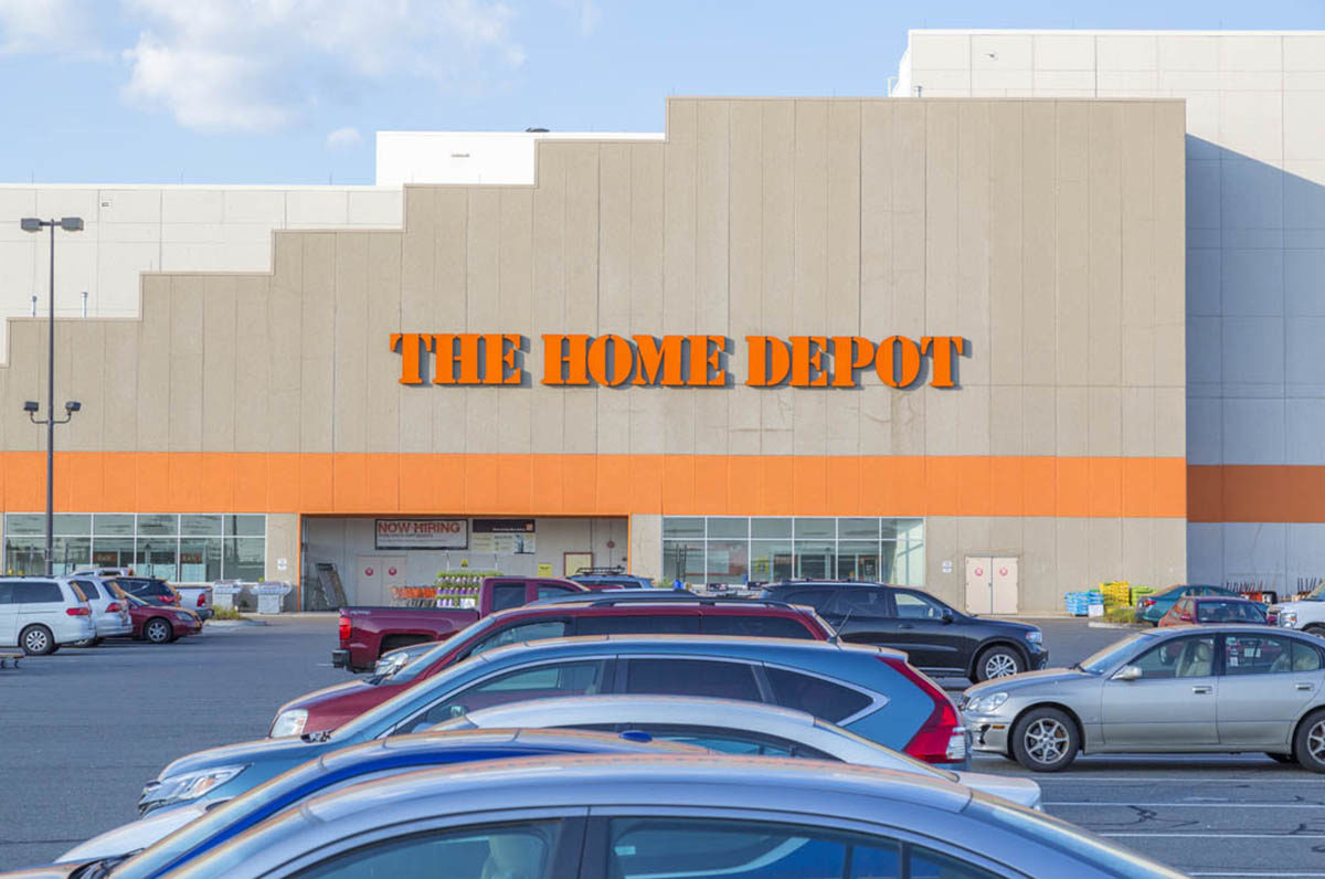 The Home Depot at the Crossing at Walkers Brook